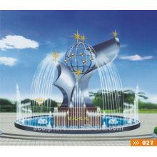 Escultura fonte do templo