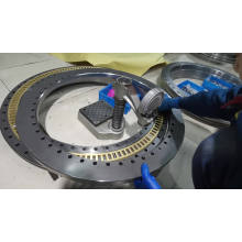 OEM iso Axial/Radial GCr15P4P2precision ZKLDF100 rotary table bearing