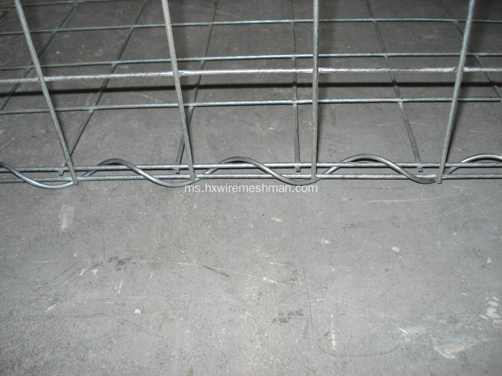 Kabinet Gabion Dikimpal Galvanized Hot Dipped