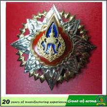 Metal de alumínio 50 * 50cm emblema 3D