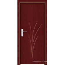 Porte intérieure en PVC fabriquée en Chine (LTP-8006)