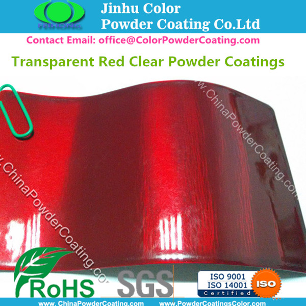 Transparent Red Powder Coating/ ChiinaPowderCoating.com