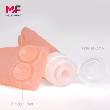 New+design+silicone+empty+travel+toiletry+bottles