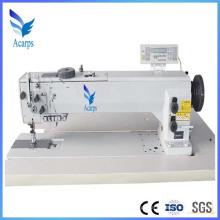 Máquina de costura de agulha dupla de braço longo