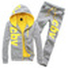 2016 New Customized Printing Letters Sports Suit (XY181)