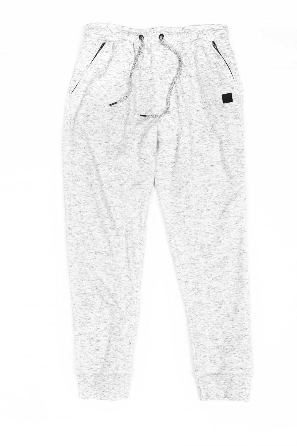 Men's knit fleece pants