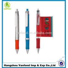 Топ продаж пластиковых объявление баннер ручка с логотипом