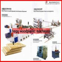 WPC wood plastic furniture board machinery