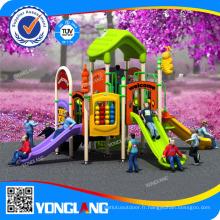 Aire de jeux pour enfants à l'intérieur et à l'extérieur, toboggan Pleastic