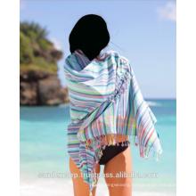 Cotton Kikoi Towel With Pocket