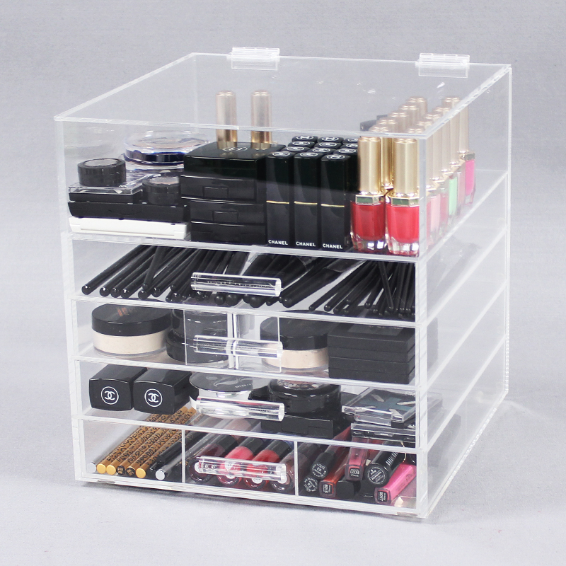 Acrylic Makeup Storage Organizer With Drawers