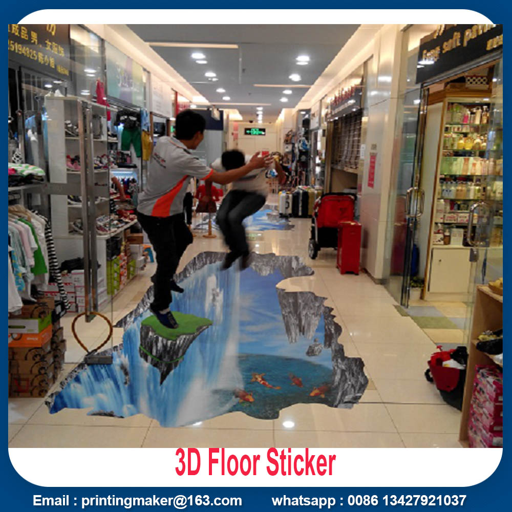 floor waterproof stickers printing