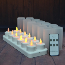 Remote Control Electric Rechargeable Tea Lights