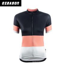 Latest Sublimated Cycling Jersey Fashion Women Cycling Wears