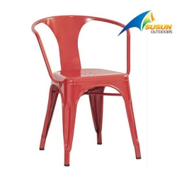 outdoor metal chair