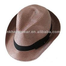 Caliente-vende el sombrero adulto del pañero de la paja del papel de la manera