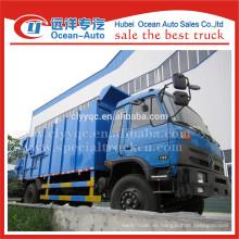 Dongfeng 153 de compresión de acoplamiento de camiones de basura