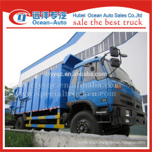 Dongfeng 153 compression docking refuse truck
