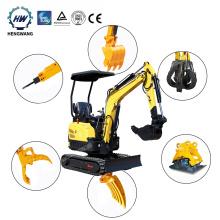 CE EPA support Hydraulic Excavator New Crawler Small Digger Mini Excavator For Sale 0.8 Ton 1 Ton 2 Ton 3 Ton