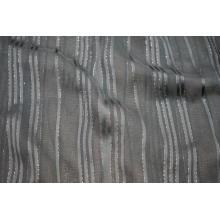Tissu Viscose 50D Filament Lurex Stripe Yoryu Dobby