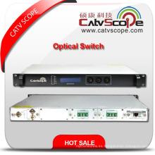 Proveedor profesional 2X1 Interruptor óptico de fibra de alto rendimiento
