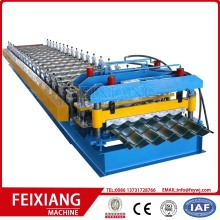 Lembaran Roofing Glazed Roll Forming machine