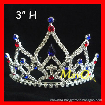 New design beauty Patriotic pageant tiara,sizes available