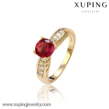 13050- Xuping Wholesale Alloy Jewelry Rings Romantic Gold Wedding Ring