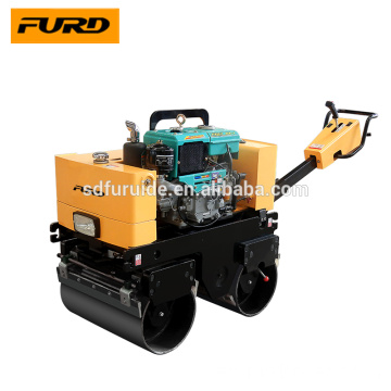 Hand held tandem vibratory small road roller compactor Hand held tandem vibratory small road roller compactor