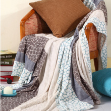 High Quality Thick Soft Solid 100% Polyester Flannel Blanket