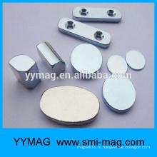 Магниты из неодимового диска с большим магнитным материалом
