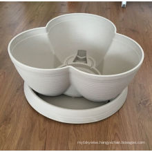 Hot sale high quality competitive price stackable flower pot mould