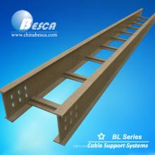 Tipo da escada da bandeja de cabo da fibra de vidro de FRP GRP (UL, cUL, NEMA, CE, IEC, ISO)