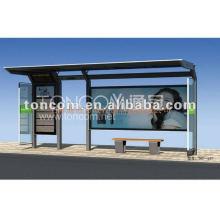 современные автобусной остановке