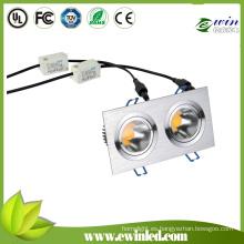 900-1100lm Square LED Downlights con 3 años de garantía