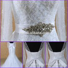 BB0001 Hochzeitsgurt Kristallrhinestonegurt für Hochzeitskleidgurt