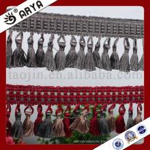 Hangzhou Taojin Textil handgemachte einfache Design Quaste Fransen