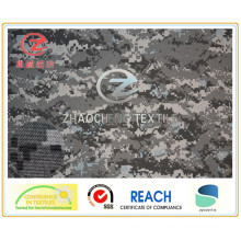 500d Nylon Cordura Printing Coated PU for Military Use (ZCBP002)