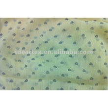 Faux Silk Polyester Crepe chiffon for Lady Dress