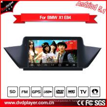 Hla 8839 Android 5.1 voiture DVD GPS système Android pour BMW X1 E84 écran 3G Internet Monitor
