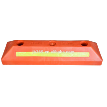 500x150x100mm red color plastic wheel stopper