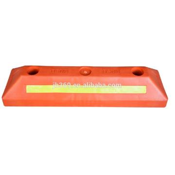 Tapón de rueda de plástico de color rojo 500x150x100mm