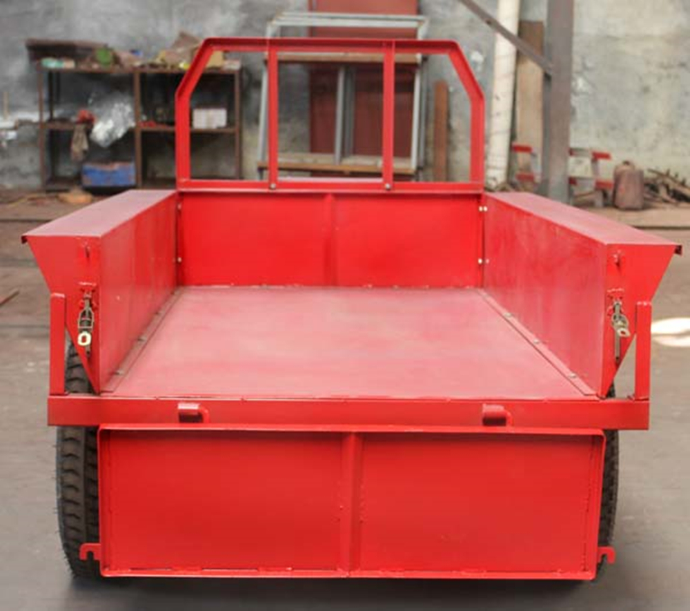 farm trailer with seat