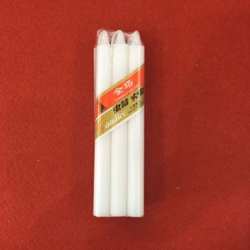 Billiga kyrkans pelare Unscented Stick White Candles
