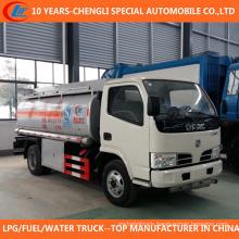 6wheels 2t 3t Oil Tanker Truck 5cbm Fuel Refueling Truck