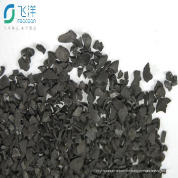 Carbón activado Yodo número 1050 para recuperación de oro