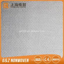 tela não tecida do spunlace tela gravada do algodão do tecido do ponto da tela