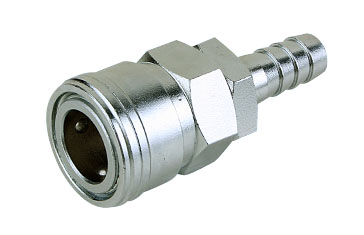 Mass Flow Quick Coupler Socket Barb