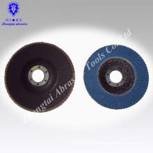 OEM Aluminum oxide, silicon carbide flap disc Hot sale