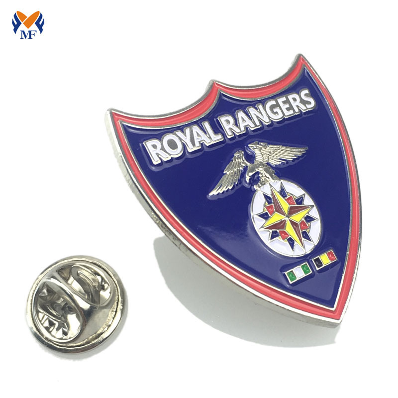 military metal badge